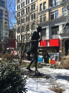 Mahatma Ghandi Statue